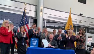 Parity Legislation signing